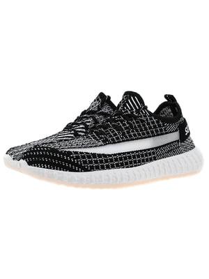 Кроссовки бело-черные | 5321904