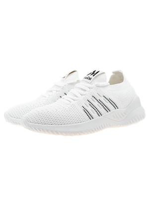 Кроссовки бело-черные | 5321936
