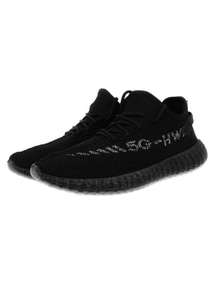 Кроссовки черно-серебристые | 5321959