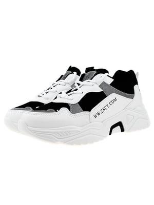 Кросівки чорно-білі | 5321967