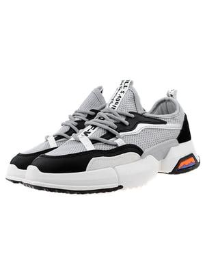 Кросівки сіро-чорні | 5321974