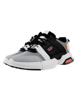 Кросівки чорно-сірі | 5321987