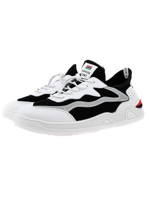 Кроссовки бело-черные | 5325870