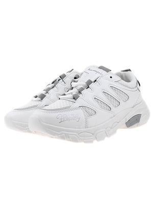Кроссовки бело-серые | 5316956