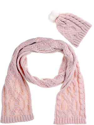 Комплект: шапка і шарф | 5325932