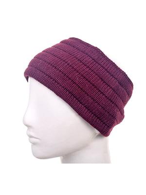 Пов'язка на голову фіолетова   5326091