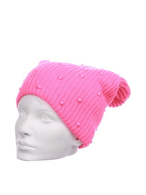Шапка розовая | 5326126