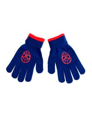 Перчатки темно-синие | 5326203