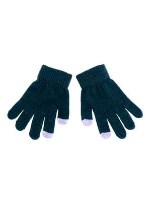 Перчатки зеленые | 5326204