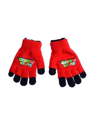 Перчатки красные | 5326210