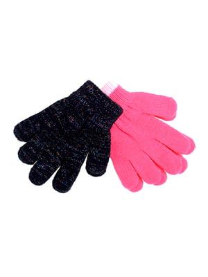 Перчатки розовые | 5326214
