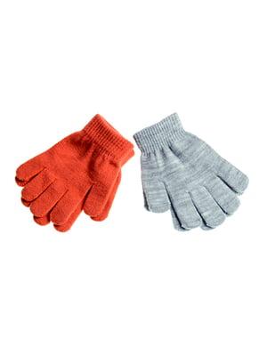 Перчатки оранжевые | 5326225