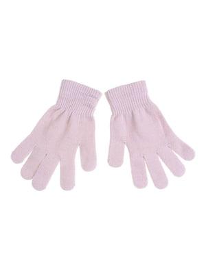 Рукавички світло-рожеві | 5326255