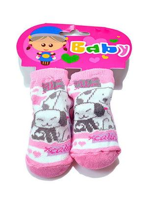 Шкарпетки рожеві | 5326291
