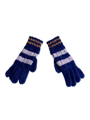 Перчатки синие | 5326332