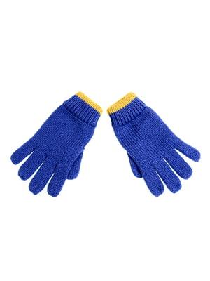 Перчатки синие | 5326336