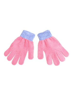 Перчатки розовые | 5326340