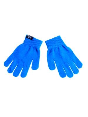 Перчатки синие | 5326348