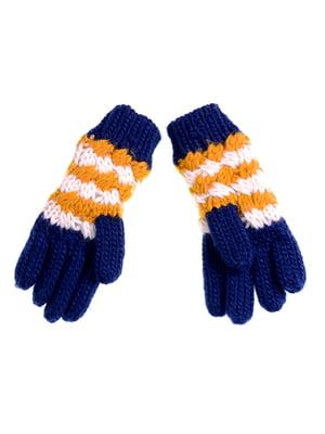 Перчатки темно-синие | 5326360