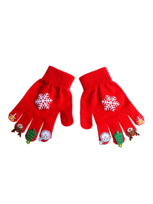 Перчатки красные | 5326366