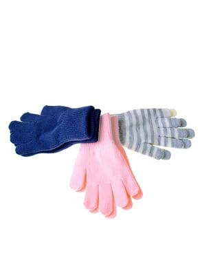 Набор перчаток (3 пары) | 5326380