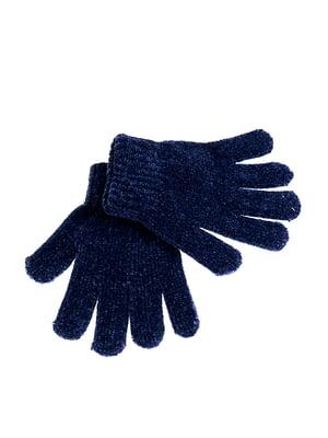 Рукавички темно-сині | 5326390
