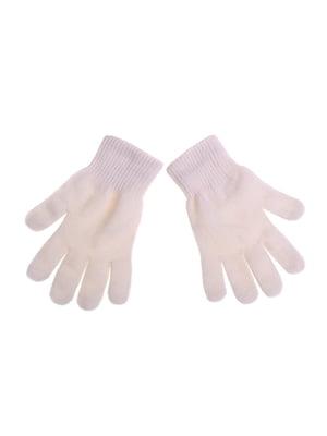 Рукавички білі | 5326397