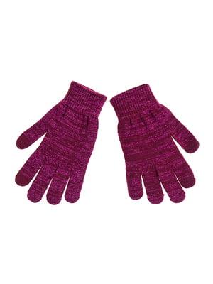 Перчатки бордовые | 5326400