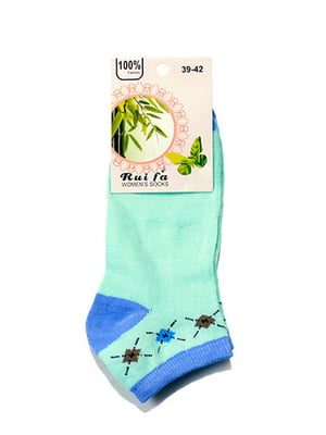 Носки бирюзовые | 5326422