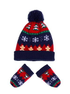 Комплект: шапка и рукавицы | 5326427