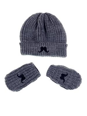 Комплект: шапка і рукавиці   5326428