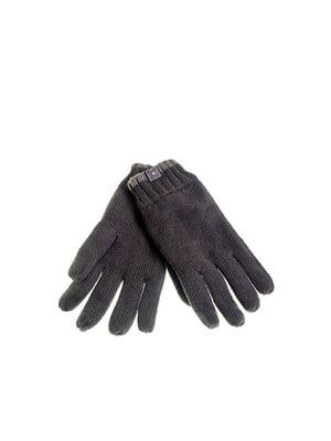 Рукавички темно-сірі | 5326435