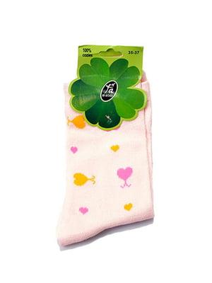 Носки розовые | 5326437