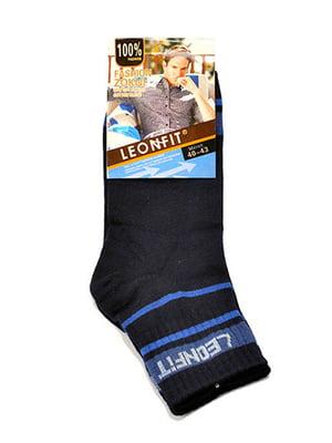 Шкарпетки темно-сині | 5326461
