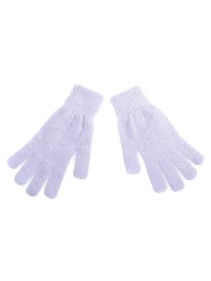 Перчатки светло-серые | 5326465