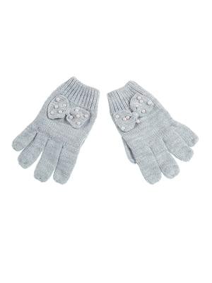 Перчатки серые | 5326483