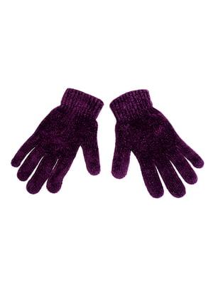 Рукавички фіолетові | 5326486