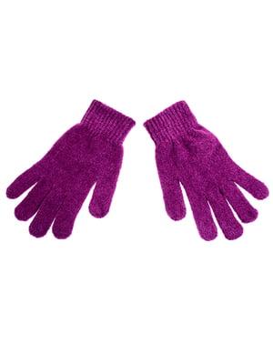 Перчатки фиолетовые | 5326487