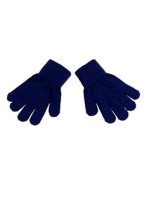 Рукавички темно-сині | 5326503