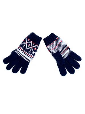 Перчатки темно-синие | 5326507