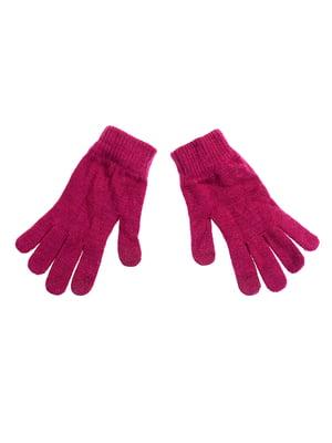 Перчатки бордовые | 5326508