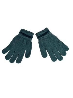 Перчатки темно-зеленые | 5326517