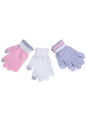 Перчатки розовые | 5326545