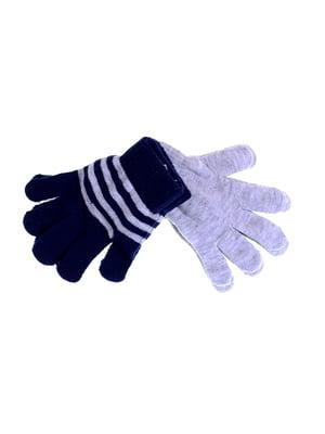 Перчатки серые | 5326547