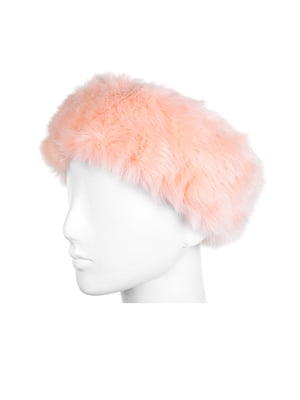 Повязка на голову розовая | 5326574