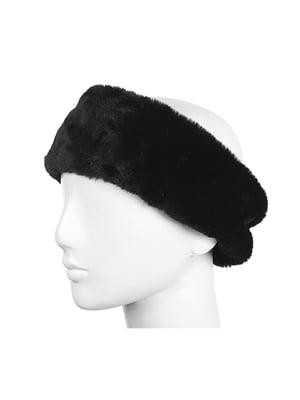 Пов'язка на голову чорна | 5326580