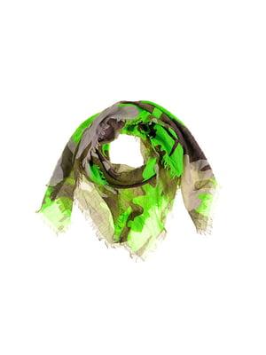 Шарф зелений   5326614