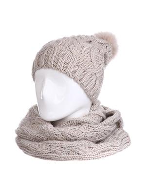 Комплект: шапка і шарф | 5326644