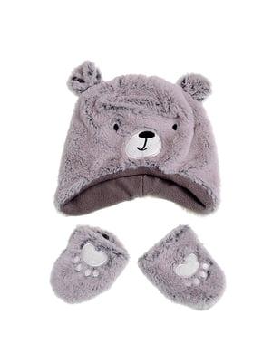 Комплект: шапка и рукавицы | 5326645