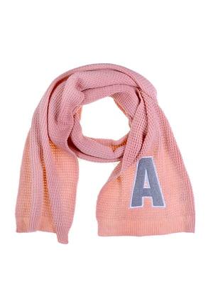Шарф рожевий | 5326647